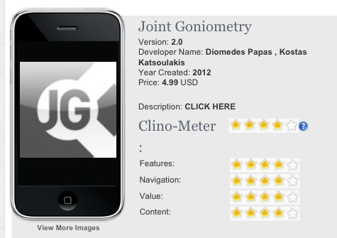 Joint Goniometer