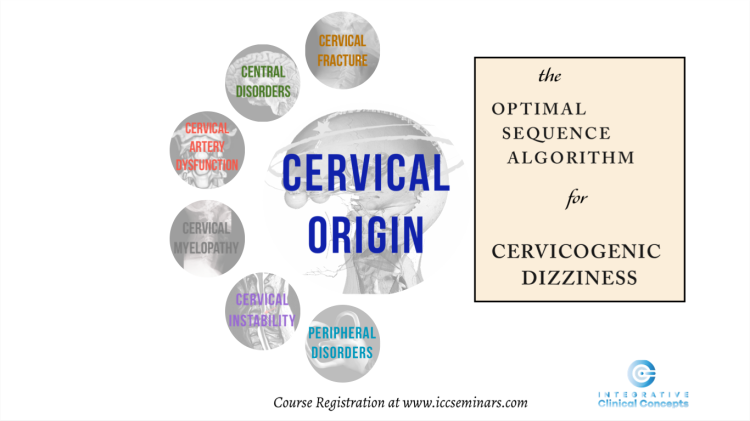 cervical vertigo, cervicogenic dizziness, manual therapy, cervical spine