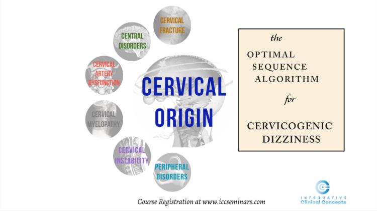 cervical vertigo, cervicogenic dizziness, manual therapy, cervical spine